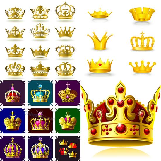 欧式王冠矢量