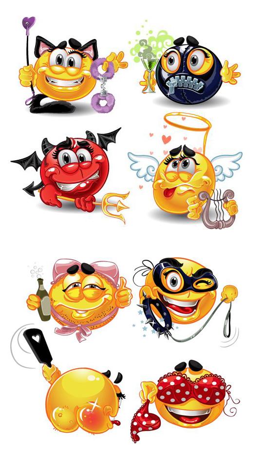 搞笑卡通头像_素材中国sccnn.com