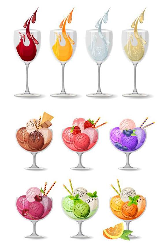 素材分类: 矢量饮品所需点数: 0 点 关键词: 水果沙拉免费矢量素材
