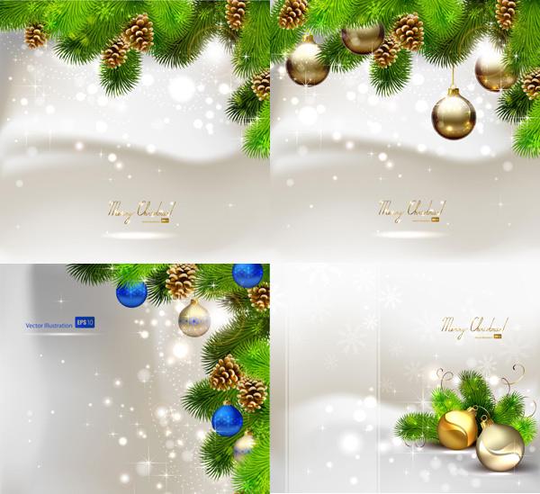 精美圣诞节彩球