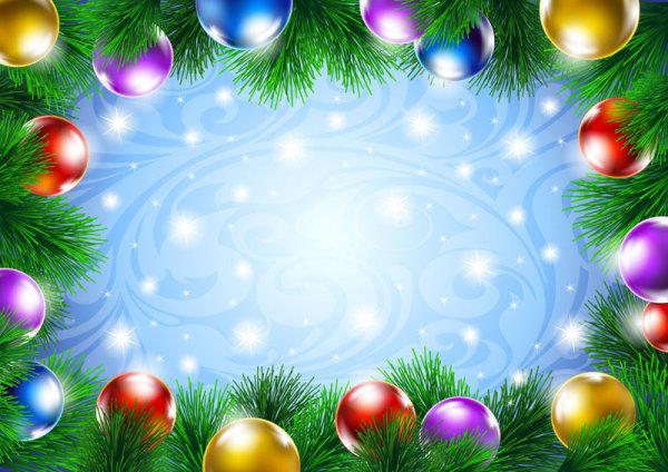 圣诞装饰背景04