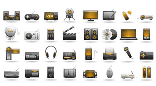 科技产品图标_素材中国sccnn.com图片