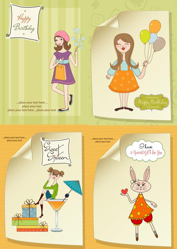 气球,线稿,线条,卷角,女性,手提包,购物,线稿,卡通人物,,小兔子,红心