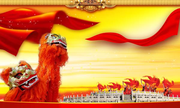 中国传统舞狮