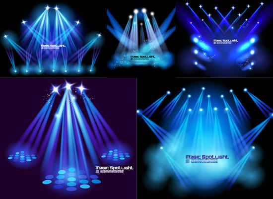 Stage lighting effects