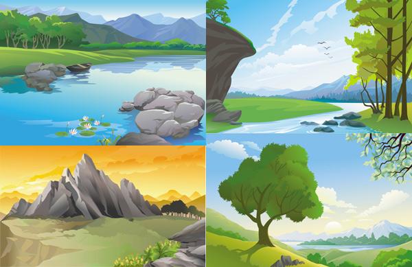美丽风景画图片