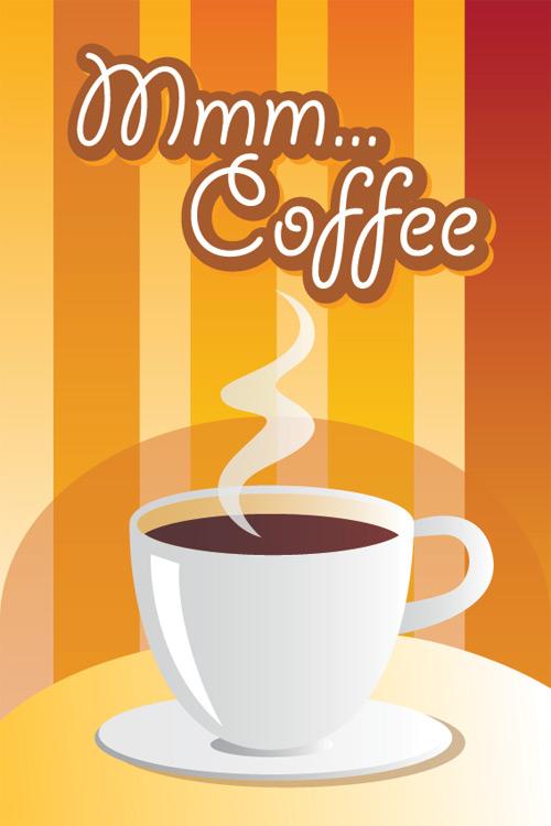 pop图片手绘奶茶咖啡