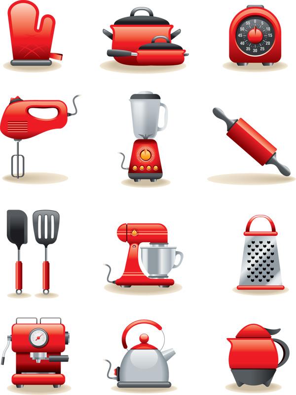 厨房用具图标 素材中国sccnn Com