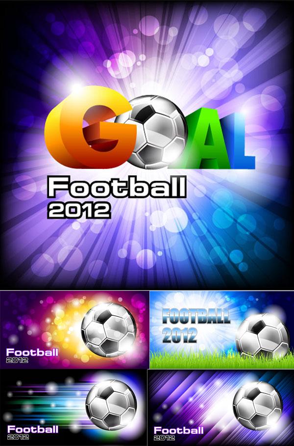 素材分类: 平面广告所需点数: 0 点 关键词: 欧洲杯足球赛海报矢量图