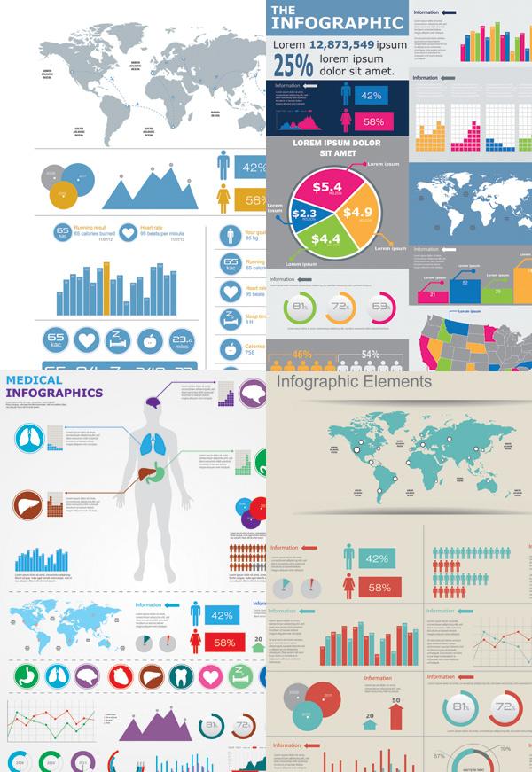 商业数据分析图_矢量商务金融 - 素材中国_素材