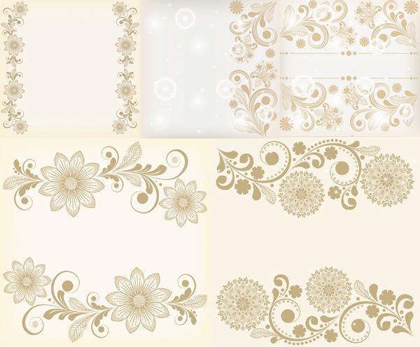 欧式花纹,花纹背景,文本背景,花边,花纹样式,纹样,边框,eps矢量素材