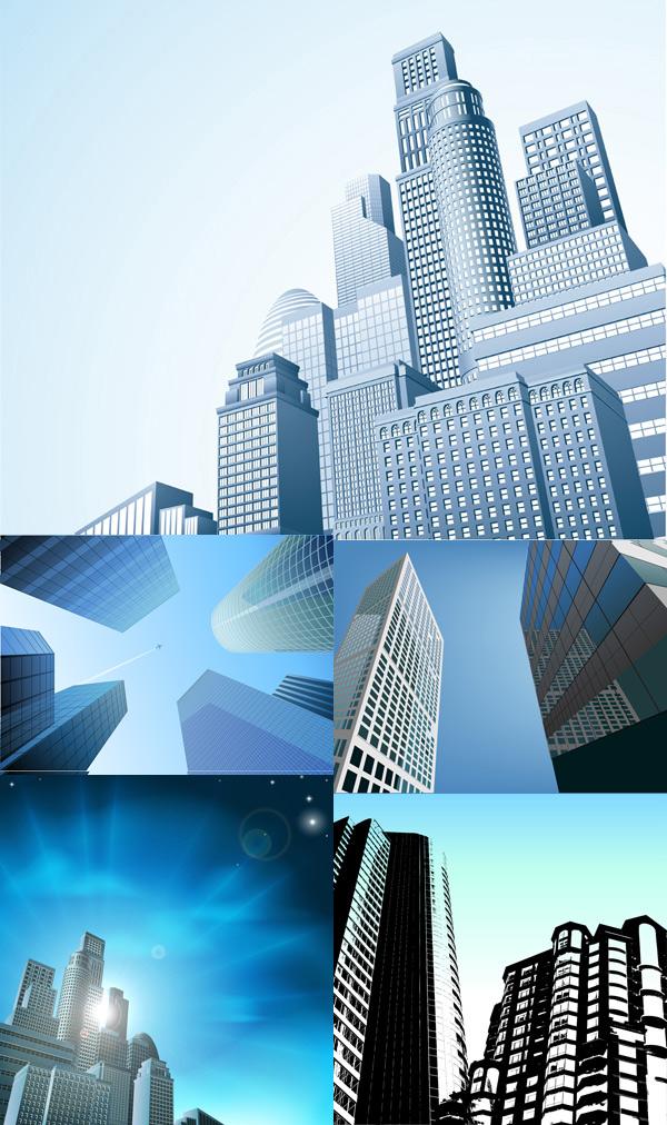 现代摩天大楼