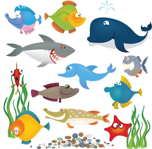 可爱海洋生物