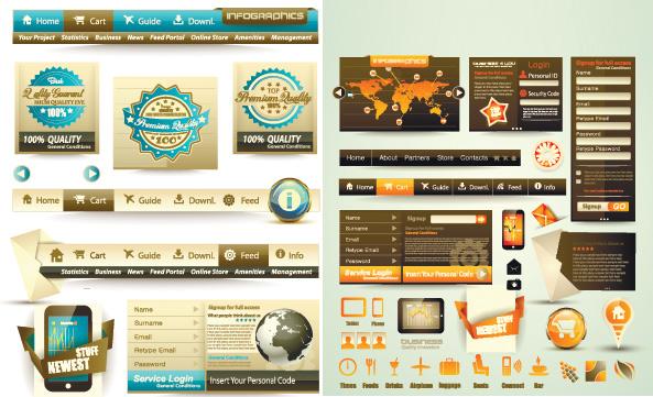 创意网站矢量_平面广告 - 素材中国_素材cnn