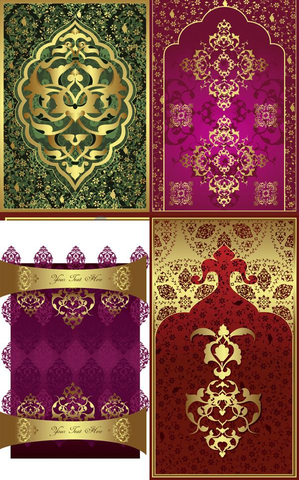 中式复古花纹图片