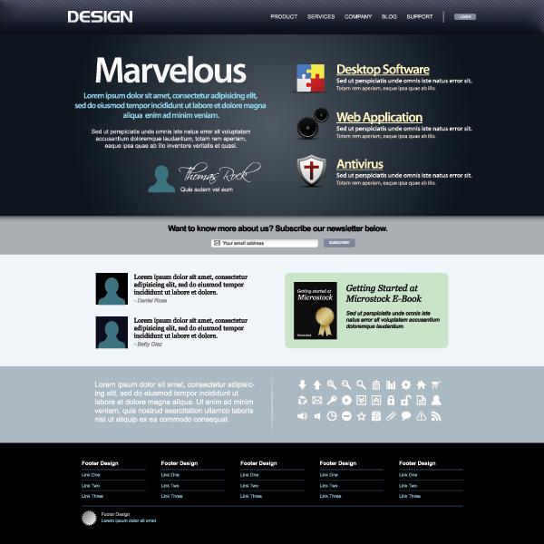 网页模板,网页设计,网站设计,eps矢量素材下载 下载文件特别说明:本站