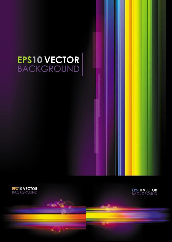 0 点 关键词: 彩色条纹背景矢量素材图,彩色条纹,炫彩,璀璨光晕,紫色