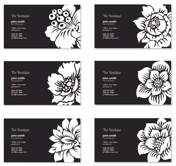 0 点 关键词: 花卉名片矢量素材,花卉名片,名片设计,名片模板,白底图片