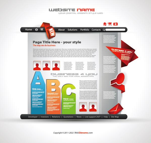 创意折纸网站