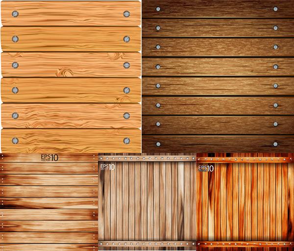 矢量材质所需点数: 0 点 关键词: 木板矢量素材,木板,木纹,纹路,钉子
