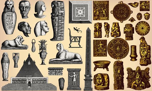 古埃及与玛雅符号