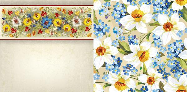 0 点 关键词: 百合装饰花纹矢量素材,花纹背景,精美花卉,彩绘鲜花