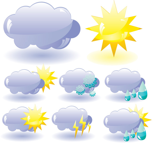 迷你天气云图标_矢量各式图标 - 素材中国_素材cnn