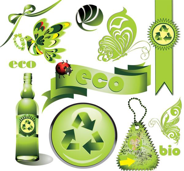 绿色创意图标图片