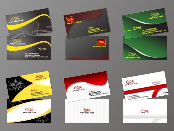 Dynamic creative business card