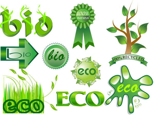 绿色环保矢量