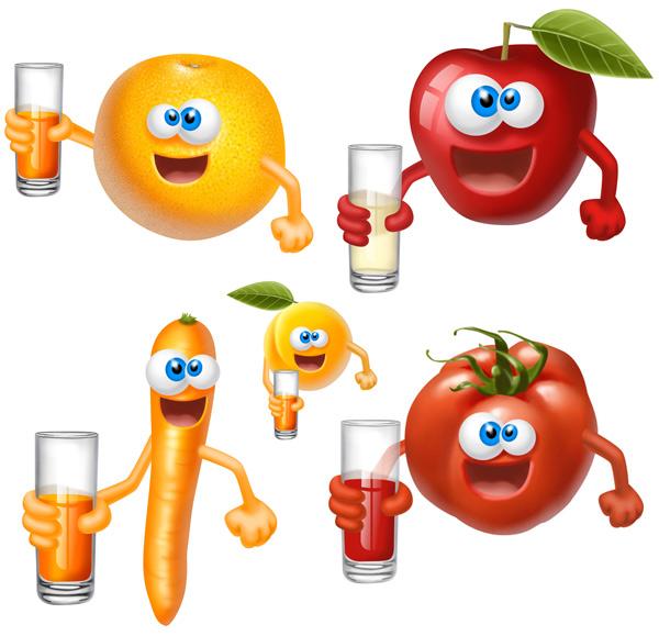 橙子做水果动物造型