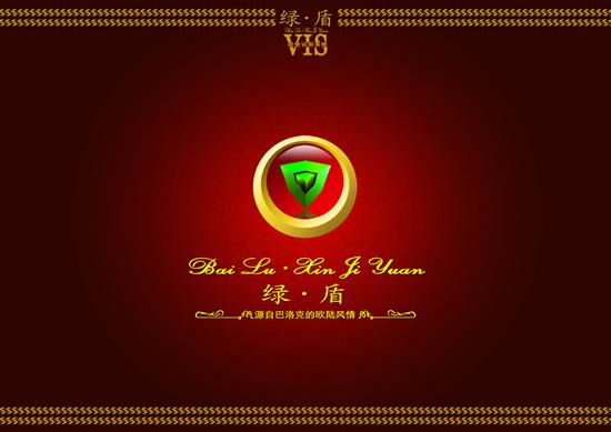 绿盾VIS标志