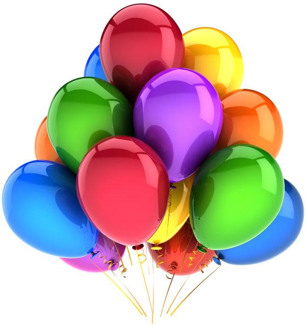 绚丽彩色气球1