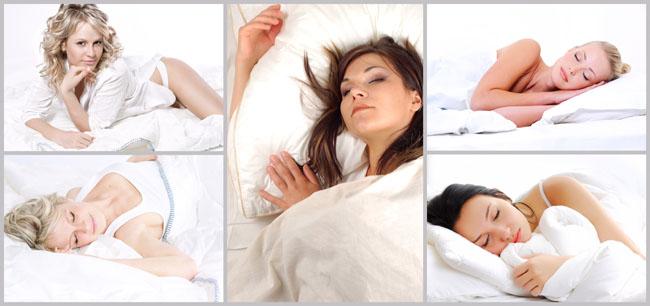 睡觉的女人 女性妇女  650