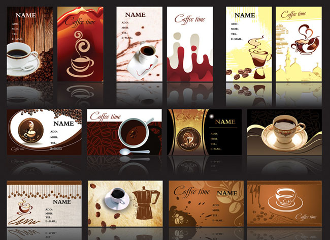 咖啡店名片