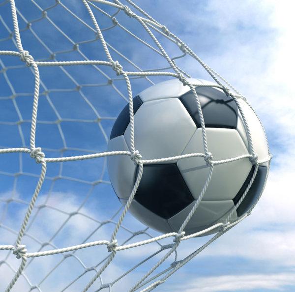 足球与球网