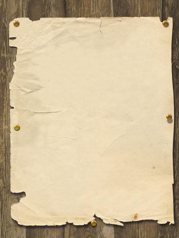 高清废旧纸张