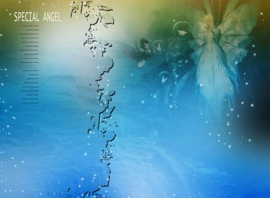 Romantic dream angel photo