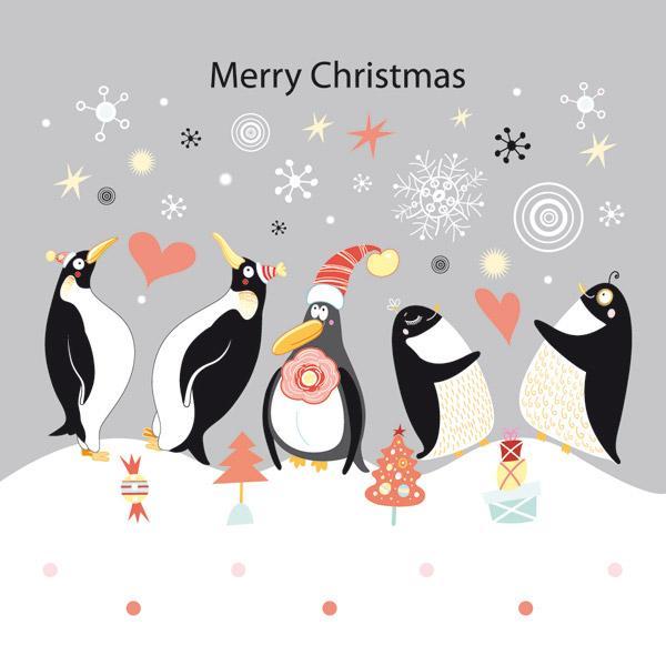 手工纸盘企鹅步骤