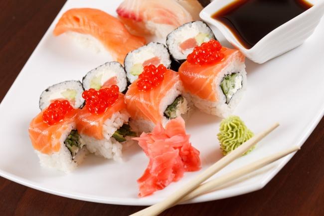 美味海鲜寿司