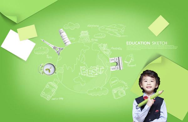 韩国可爱小男孩壁纸9工格