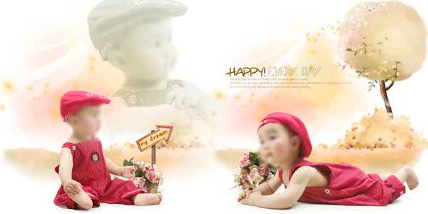 Children photography photo