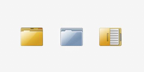 图标所需点数: 0 点 关键词: 文档iconpsd分层素材,icon,文件夹,图标图片