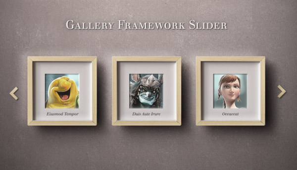 Realistic frames PSD