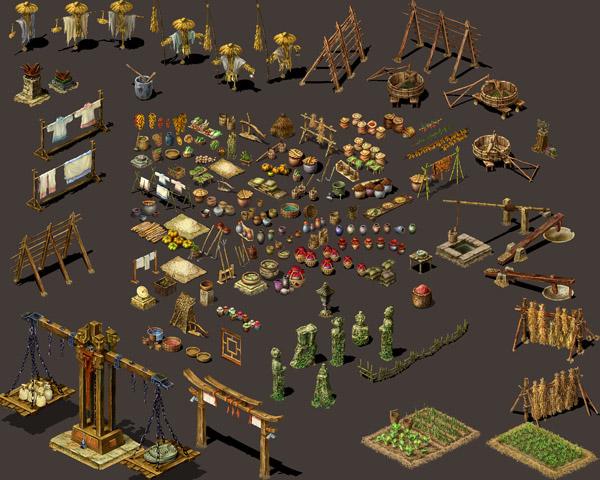 2d游戏地图素材
