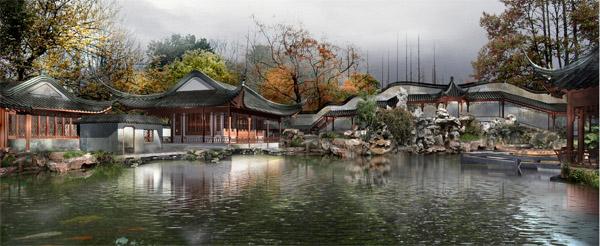 古典园林景观_素材中国sccnn.com