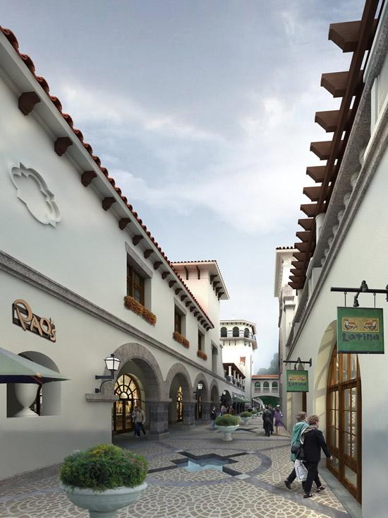 素材分类: 建筑景观所需点数: 0 点 关键词: 商业步行街景观设计psd图片