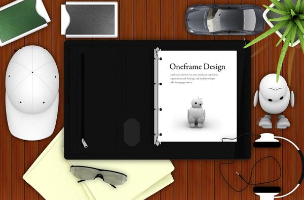 桌面上的文件夹