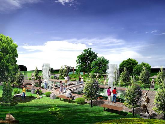 素材分类: 建筑景观所需点数: 0 点 关键词: 城市公园园林绿化景观