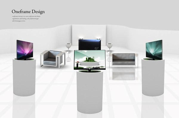 产品展厅; 展厅轴测效果图图片欣赏下载;